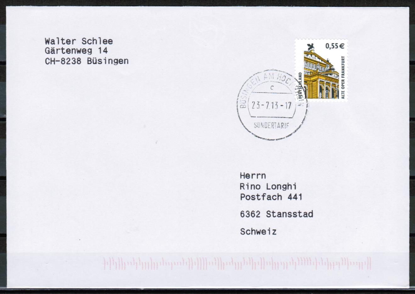 Briefe Philatelie Bund Berlin Ddr