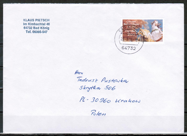 Brief Nach Irland Porto : Briefe philatelie bund berlin ddr