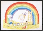 "Ansichtskarte von Barbara Alexander - ""This is my very own rainbow ... "" ..."