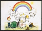 "Ansichtskarte von Barbara Alexander - ""The Rainbow Machine ... "" ..."