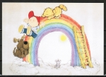 "Ansichtskarte von Barbara Alexander - ""Rainbow sliding with best friends ... "" ..."
